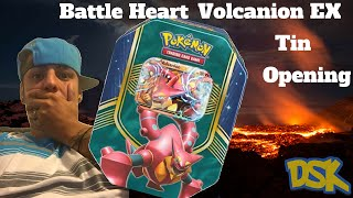 Brand New Volcanion EX tin Opening!!! Growing the Collection for sure. by Demon SnowKing
