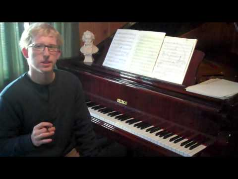 Musical Composition - This is an overview of Sonata-Allegro form, the first form in a series of video lessons dealing with structure in music.