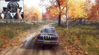 Subaru Impreza - Dirt Rally 2.0   Logitech g29 gameplay