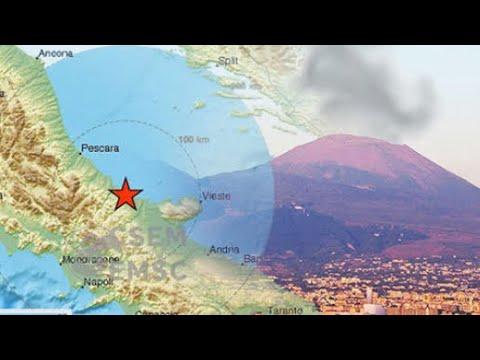 Italy earthquake 52 mag hits Italy over Naples volcano Vesuvius