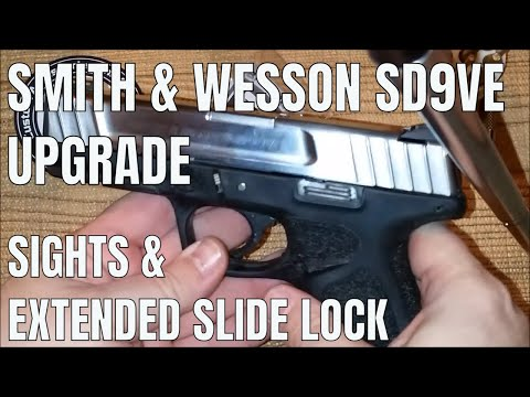 Smith & Wesson SD9VE Upgrades: Part 1