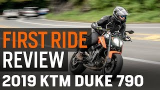 1. KTM 790 Duke First Ride Review