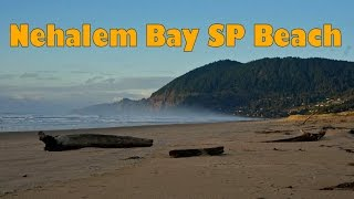 In this short video, I pan around the huge beach at Nehalem Bay State Park, Oregon. The park is situated on the north Oregon ...