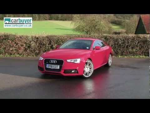 a5 - Full review: http://www.carbuyer.co.uk/reviews/audi/a5/coupe/review The Audi A5 Coupe takes the underpinnings of a four-door A4 saloon and wraps them in a tw...