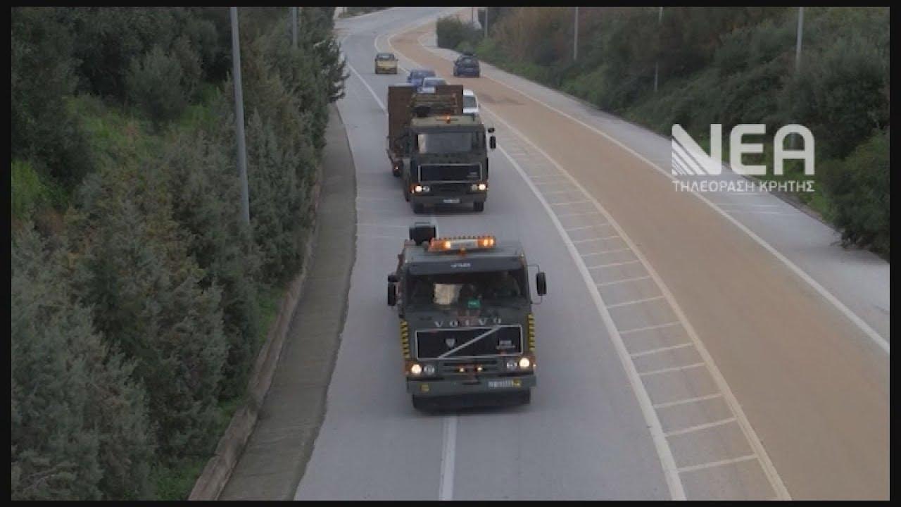 Ο Στρατός στήνει τις πρώτες γέφυρες στην Κρήτη