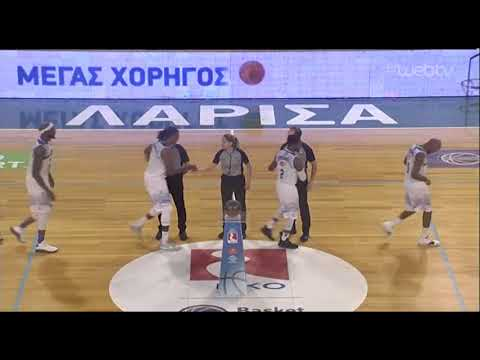 Basket League 2019-2020: ΛΑΡΙΣΑ – ΡΕΘΥΜΝΟ | 07/12/2019 | ΕΡΤ