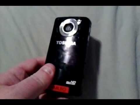 Toshiba Camileo B10 Camcorder Review