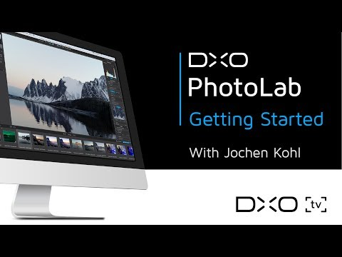 Getting started with DxO PhotoLab