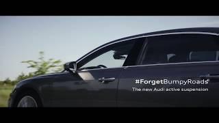 Yeni Audi A8 active suspension kısa reklam video