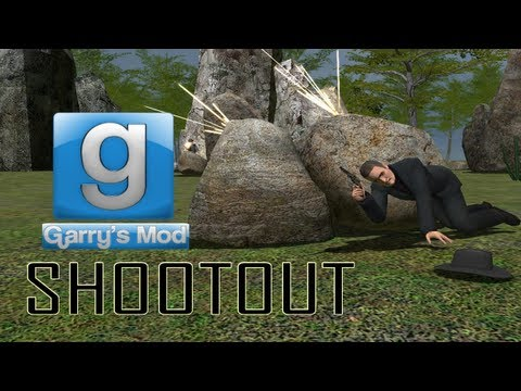SeaNanners vs Dirty Cops vs Me – Shootout [GMOD]