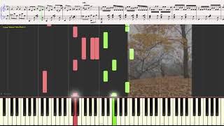 Очарование - Сергей Коновалов (Ноты и Видеоурок для фортепиано) (piano cover)