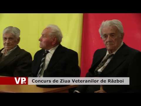 Concurs de Ziua Veteranilor de Război