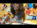 Opening ASMR Eating Candy/Sound/Soft Spoken
