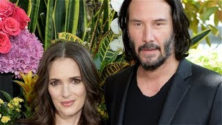 Video Winona Ryder Won't Let Anyone Forget She And Keanu Reeves Are Married MP3, 3GP, MP4, WEBM, AVI, FLV Januari 2019