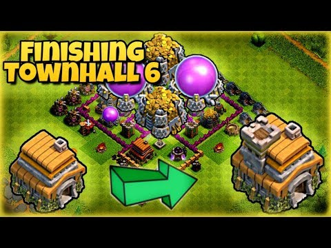 Clash of Clans (3) - Maxing Town Hall 6 and Heading to Town Hall 7!