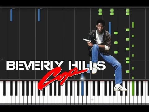 Beverly Hills Cop - Main Theme [Synthesia Tutorial]