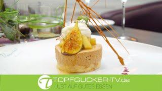 Nougatmousse | Apfelchutney | Kardamomschaum | Dessert | Topfgucker-TV