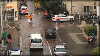 Protect Your Money With Gold - Click Here- https://goo.gl/kx2yzW Or Call - 888-596-7916 Sub for more: http://nnn.is/the_new_media  An unknown man with a chainsaw has attacked a group of people in the town of Schaffhausen in northern Switzerland. Police say at least five people were injured, two of them seriously. According to eyewitnesses, a man with a chainsaw attacked passers-by in the old town.  The unknown person attacked the branch of the insurance company CSS Assurance, two employees of which were injured. According to preliminary data, the suspect disappeared from the crime scene in a car.Got Kids or Grandkids? Take a break at our new Kids Channel:(( SUBSCRIBE )) http://bit.ly/sub-to-Banchi-BrothersSee the report here:https://youtu.be/nliSAHXTuJsRead More/Source/Credit(FAIR USE):https://ria.ru/world/20170724/1499047646.htmlBe sure to visit Inessa S Channel!https://www.youtube.com/channel/UCeix8jbmQnS6FprsJIsjVyQ/------------------------------------------------------------------------------------SUPPORT THE NETWORK WITH THE LINKS BELOW!------------------------------------------------------------------------------------Patreon $5/mo: http://nnn.is/monthly-gift-5Give Once: http://nnn.is/one-time-giftGive BTC: 13Hd1HFqS5CDLCMcFQPWu9wumubo6X2hSMTip Brian The Editor: http://nextnewsnetwork.com/tip-the-editor/T-Shirt Shop: http://nnn.is/get-your-gear-hereTeach Your Child About Liberty:http://nnn.is/1HvxU37Get the Smartphone app that is restoring freedom here:http://nnn.is/Download-Candid-HereLearn What Stocks Will Survive The Collapse:http://nnn.is/n3-trade-geniusWatch Us on Tiger Steam!http://nnn.is/GET-TIGER --- $50 off promocode: BUYTIGERSTREAMGet The Tea!http://GetTheTea.comStock Up On Survival Food Today!http://www.foodforliberty.com/nextnews----------------------------------------FOLLOW US ON SOCIAL!---------------------------------------http://Facebook.com/NextNewsNethttp://Twitter.com/NextNewsNethttp://NextNewsNetwork.comHashtag: #N3Copyright Disclaimer: Cit