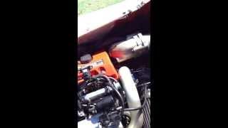 10. 04 Honda Aquatrax F12x Custom Exhaust