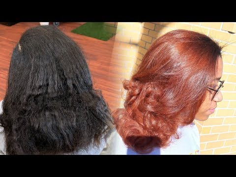 Hair color - DYING HER HAIR COPPER * MUST WATCH*
