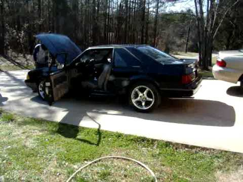 5.0 - 1990 Mustang 5.0 LX with a B303 Cam, shorty headers, O/R H and, Flowmaster 10 series (1 chamber mufflers) Thanks!