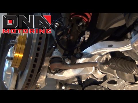 J2 Engineering Infiniti G37 V36 08-13 / Nissan 370Z Z34 09-14 Coilovers Installation