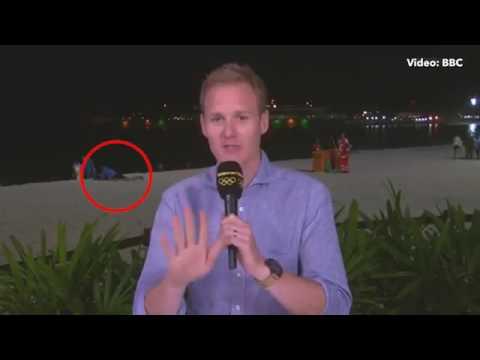 LIVE: BBC's Dan walker presents beach sex at the Olympics