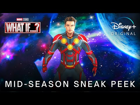 Marvel's WHAT IF…? (2021) Mid-Season Sneak Peek TRAILER | Disney+