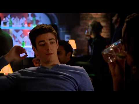 Barry and Caitlin Bar Scene (The Flash - Season 1 Episode 12)