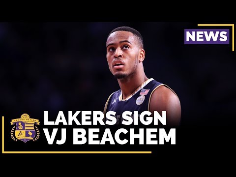 Video: Lakers Sign Notre Dame's VJ Beachem