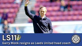 Garry Monk resigns as Leeds United head coach