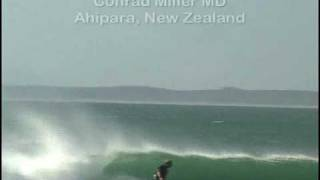 Ahipara New Zealand  city photos gallery : Dr. Conrad Miller Surfing Ahipara, New Zealand