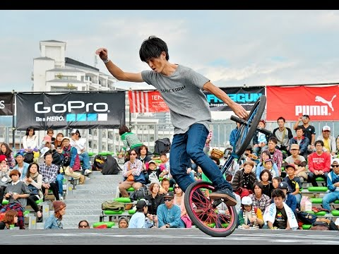 「BMX」神戸で世界大会