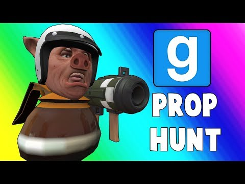 "Gmod Prop Hunt Funny Moments - The ""Z room"" (Garry's Mod)"