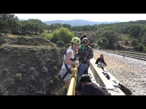 Puenting en Villavieja de Lozoya (Puente Buitrago)