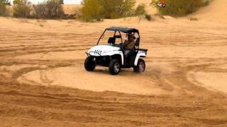 10. 2011 Arctic Cat 1000cc V-twin Prowler, tackles the Dunes at Little Sahara