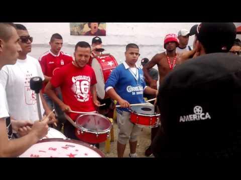 Ensayo orquesta Eje Rojo parte 1 - Baron Rojo Sur - América de Cáli
