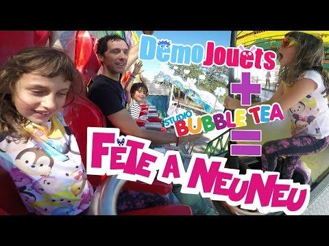 VLOG AVEC DEMO JOUETS (1/2) • Rigolades et Manèges à la fête à Neuneu - Studio Bubble Tea