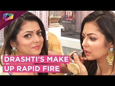 Drashti Dhami Takes Up Our Make Up Rapid Fire