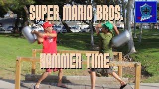 Mario vs. Luigi in the Park (Real Life SSB Parody)