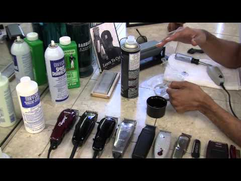 T Outliner - How to Sharpen Clippers - Andis T-Outliner by David Warren