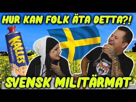 Testar Svensk Militärmat - Svensk MRE