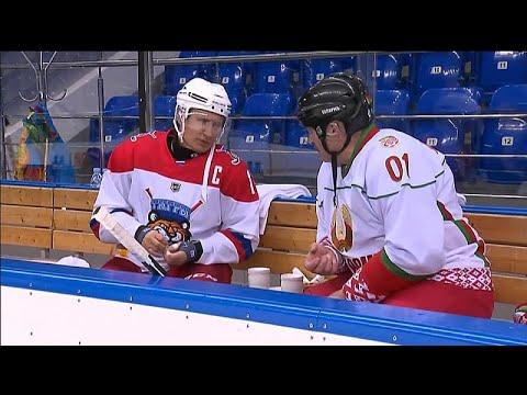 Ο Πούτιν έπαιξε χόκεϊ επί πάγου με τον πρόεδρο της Λευκορωσίας…