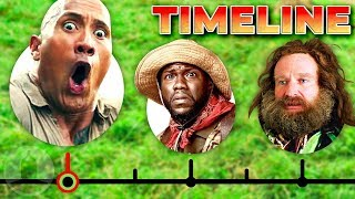 The Complete Jumanji Timeline...So Far | Cinematica