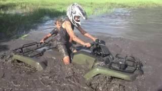 10. 2014 Honda rancher mudding