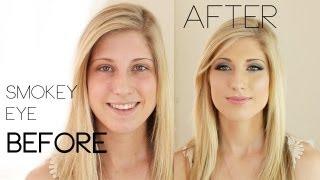 Prom Perfect (or wedding) Smokey Eye Make-Up Tutorial | Kandee Johnson - YouTube