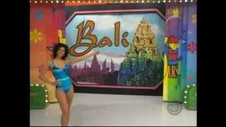 Gwendolyn Osborne in swimsuits on The Price is Right.