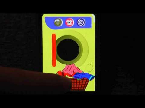 Video of Kids Washing Machine