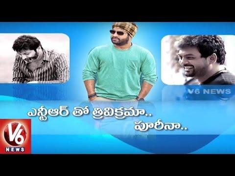 Who is Jr NTRs Next Director | Trivikram or Puri Jagannadh | Tollywood Gossips | V6 News