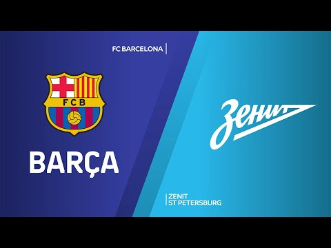 FC Barcelona - Zenit St Petersburg Highlights | Turkish Airlines EuroLeague, RS Round 22